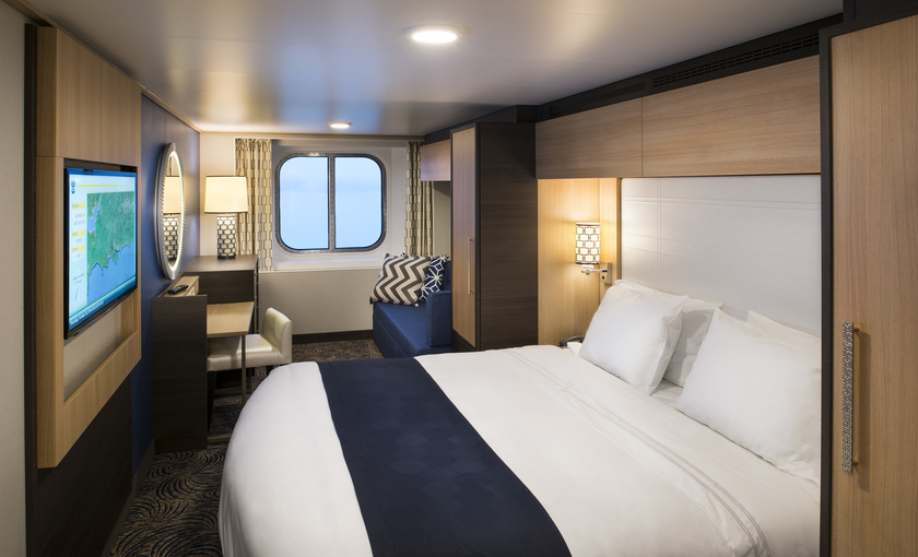 Moderne buitenhut op Anthem of the Seas