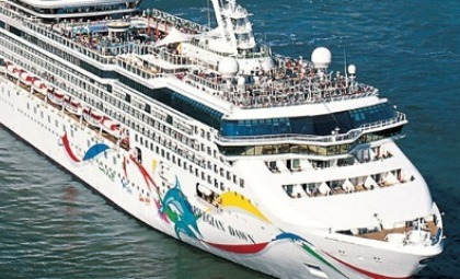 Cruiseschip Norwegian Dawn van rederij NCL