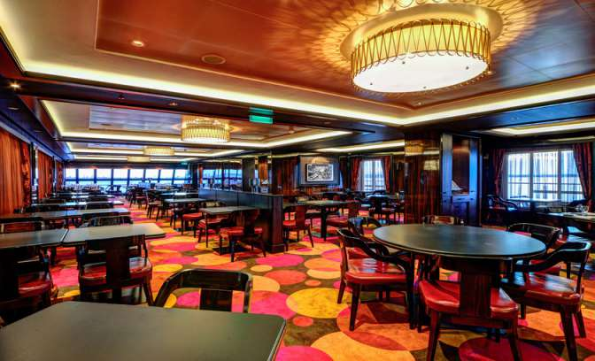 Steakhouse op de Norwegian Getaway van NCL